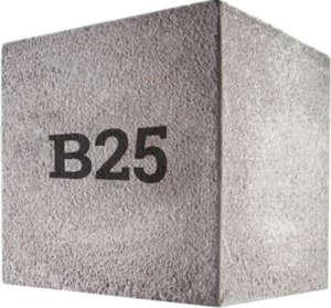 Бетон Б25