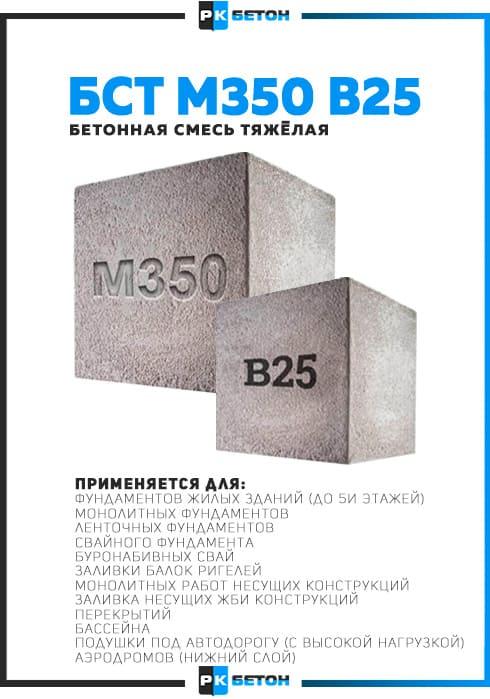 Бетон м350 цена москва купить круг по бетону в минске