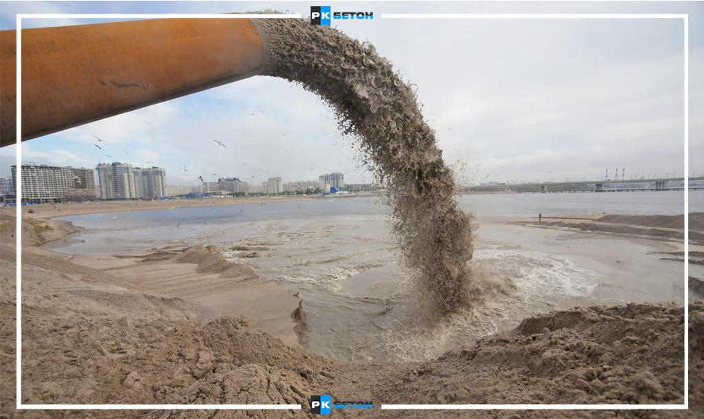 Промытый песок в Москве