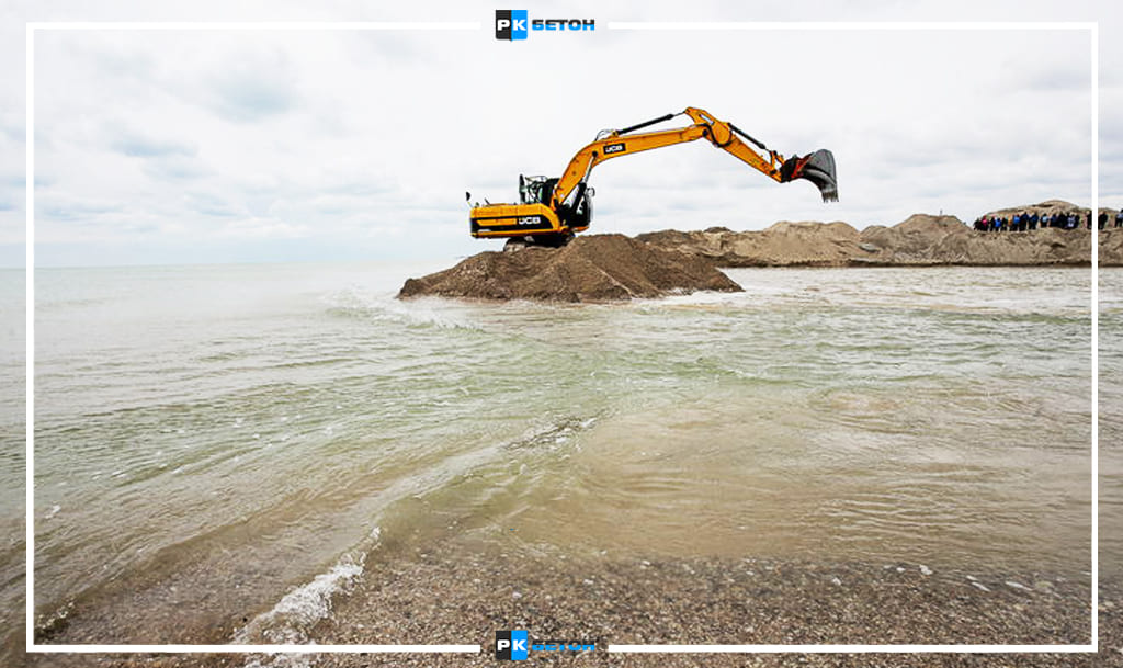 Речной песок доставка