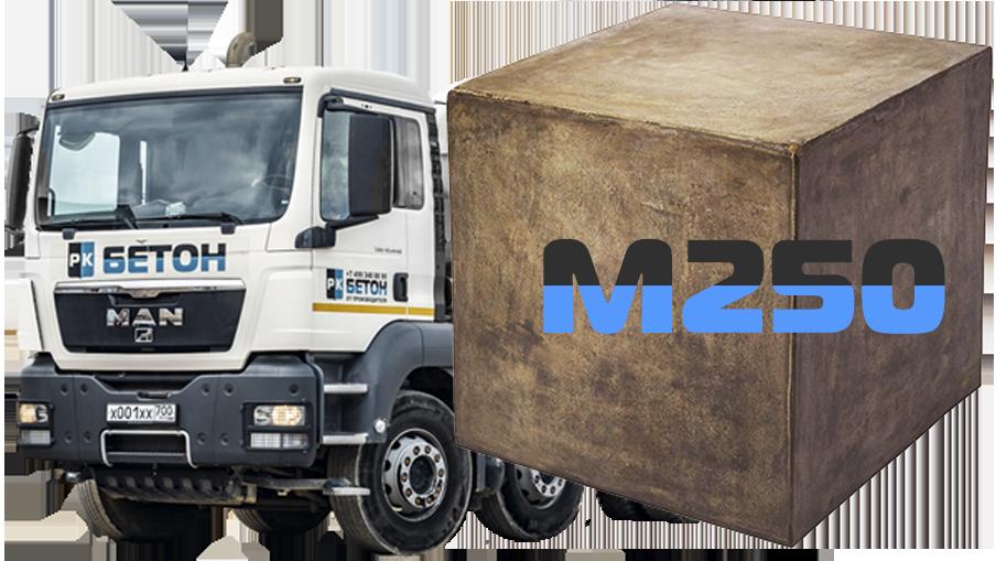 Купить бетон м250 москва за сколько времени схватывается цементный раствор